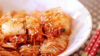 Cách làm Kim-chi ngon - How to make Kimchi 김치