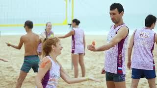 Тренировки по волейболу на Шри-Ланке