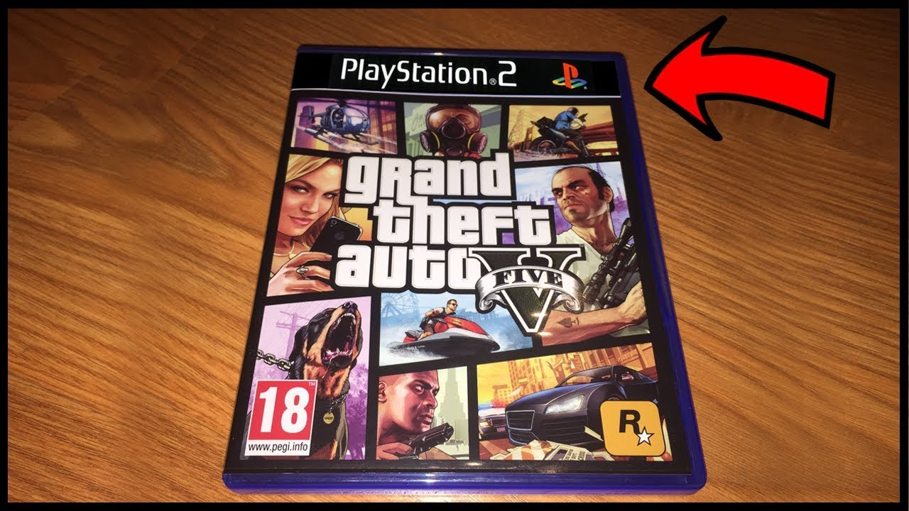 Gta 5 Para Playstation 2 Youtube