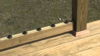 Build A Decorative Deck Handrail