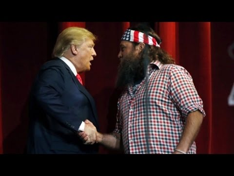 Why 'Duck Dynasty' Star Willie Robertson Endorsed Donald Trump