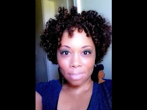 Crochet Braid Curly Afro - YouTube