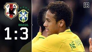 Neymar ebnet Sieg gegen Osako und Co.: Japan - Brasilien 1:3 | Highlights | Testspiel | DAZN