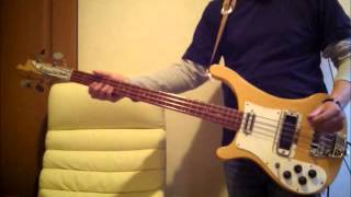 Paul McCartney & Wings  Mrs Vandebilt Bass Cover