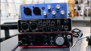 3 USB Audio Interface  Recording Test