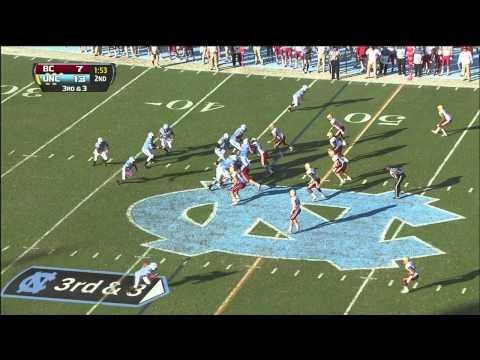 UNC Football: Highlights Vs. Boston College