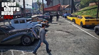 GTA 5 Roleplay - DOJ 219 - Car Meet (Criminal)