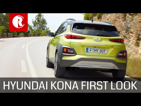 2018 HYUNDAI KONA FIRST LOOK: BIG THINGS EXPECTED FROM SMALL PACKAGE