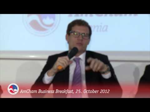 AmCham Business Breakfast in October, Part IV