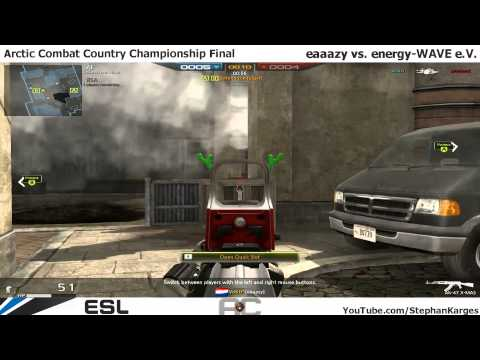 Arctic Combat ESL Country Championship Finals eaaazy vs.energy-WAVE e.V. by (SGM)DutyX