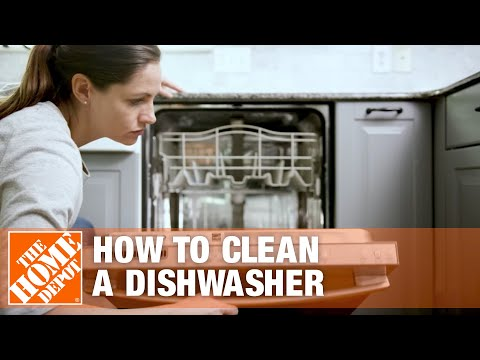 How to Clean a Dishwasher | Dishwasher Cleaning Tips | The Home Depot