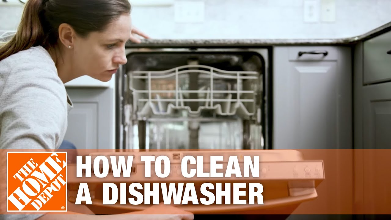 How to Clean a Dishwasher | Dishwasher Cleaning Tips - YouTube