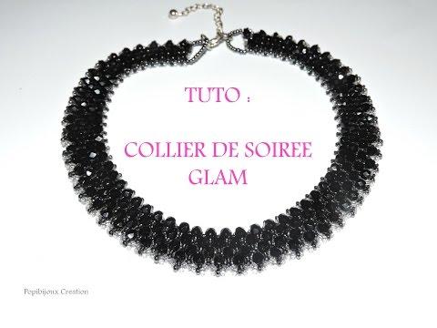 patron collier perle