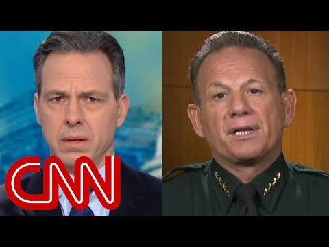 Jake Tapper grills sheriff over school shooting response