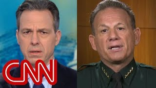 Tapper grills Sheriff Israel over school shooting response thumbnail