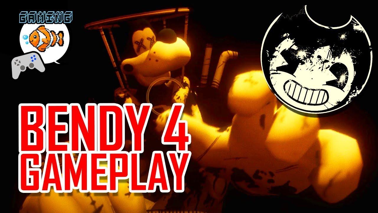 BENDY 4 GAMEPLAY! | BATIM Chapter 4: Colossal Wonders ...
