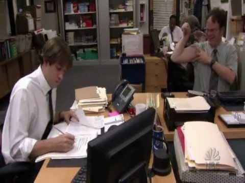 The best Pranks Jim and Dwight