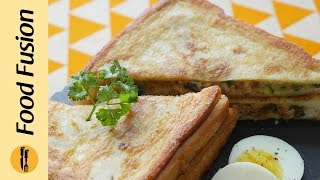 Fried chicken Tikka sandwich Recipe By Food Fusion (Ramzan Special Recipe)