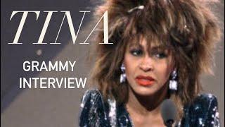 Tina Turner - Grammy Awards Interview (1985)