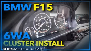 BMW 6WA (Partial) Digital Cluster Installation on an F15 X5 Diesel