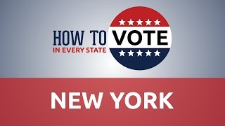 How to Vote in New York in 2018