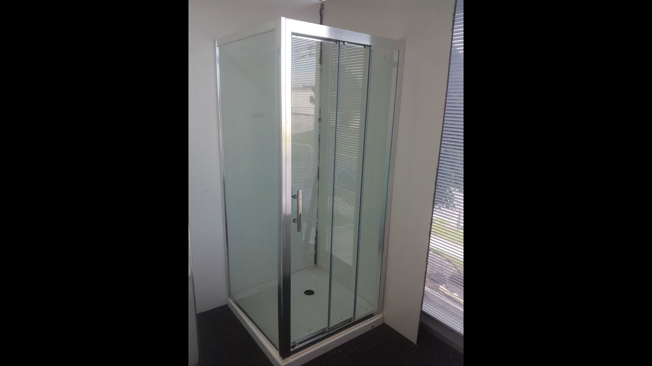 Buy Sliding Door Shower Screen in melbourne [2 sliding door panels ...