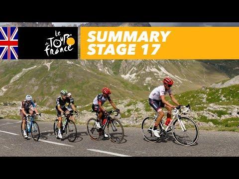 Summary – Stage 17 – Tour de France 2017