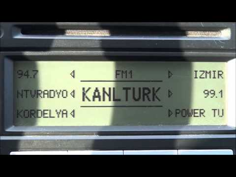 FM Radio Scan Izmir, Türkiye 29.10.2013