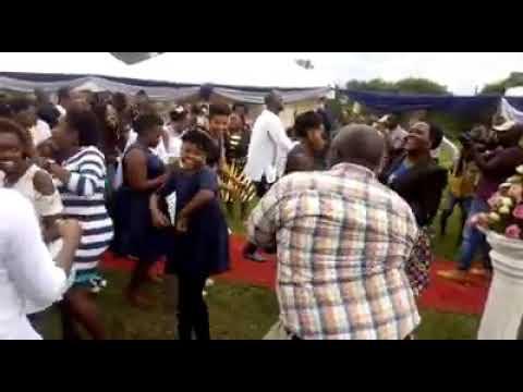 Zigwembe dance at a wedding