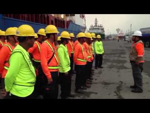Briefing stevedore