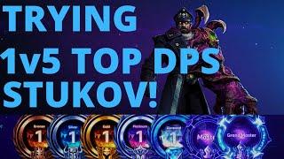Stukov Shove - Trỳing to 1v5 Top DPS Stukov - Plat 3 B2GM Season 4