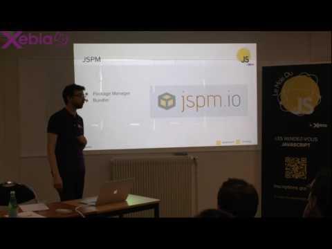 Mois du JS - Gérer ses dépendances dans le code grâce à JSPM