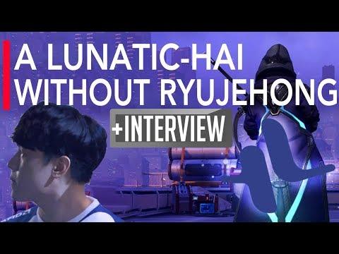 Overwatch Gameplay | A Lunatic-Hai Without Ryujehong Ana VS Meta Athena ft WhoRU Genji Miro | APEX