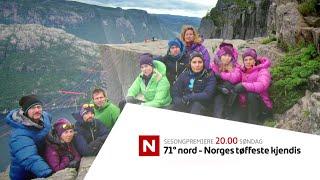 71° nord - Norges tøffeste kjendis sesong 7 - promo