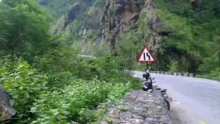 Bike Ride back to Kathmandu from Pokhara Trisuli River