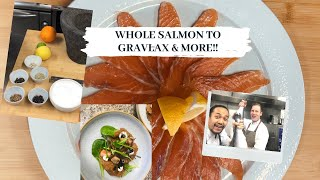 From the whole salmon to gravlax