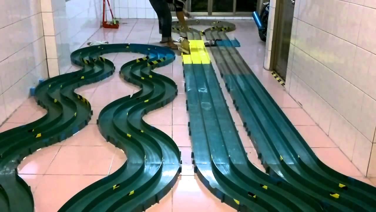 基隆( 雲河) 三驅部,2011.2.20 .  三輪軌道車,8mm短軸心試車狀況