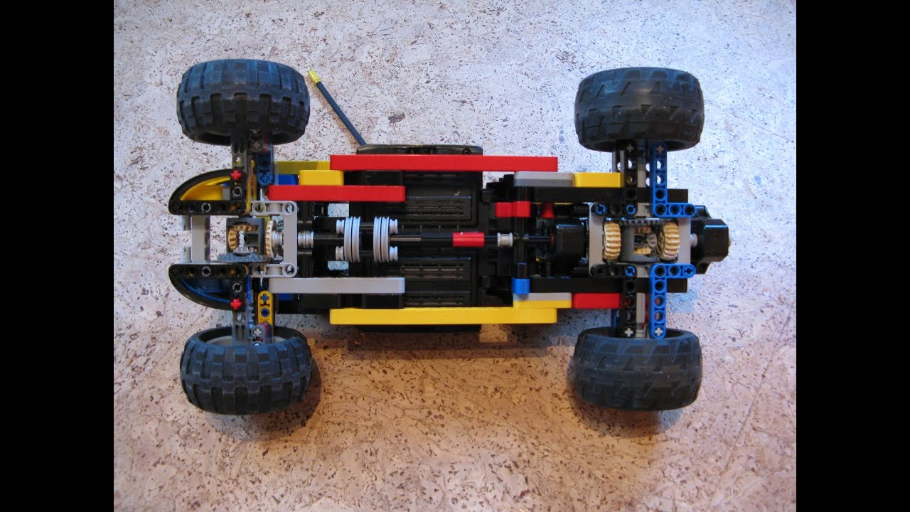 Lego Technic Drift Rc Car Tutorial Youtube