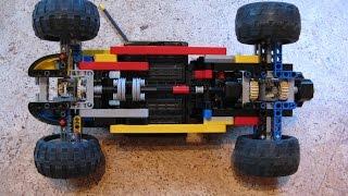 LEGO Technic Drift RC Car + Tutorial 4WD