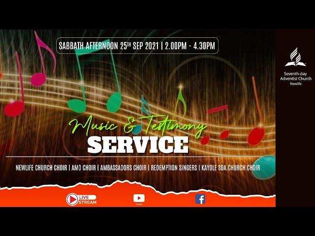 Music and Testimonies || Afternoon Sabbath Worship || 25 September 2021