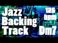Jazz Backing Track In D Minor - 125 BPM