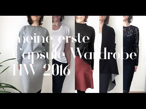 meine capsule wardrobe deutsch herbst winter 2016 youtube. Black Bedroom Furniture Sets. Home Design Ideas
