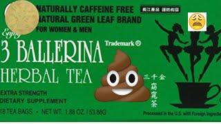3 Ballerina Herbal Tea Review