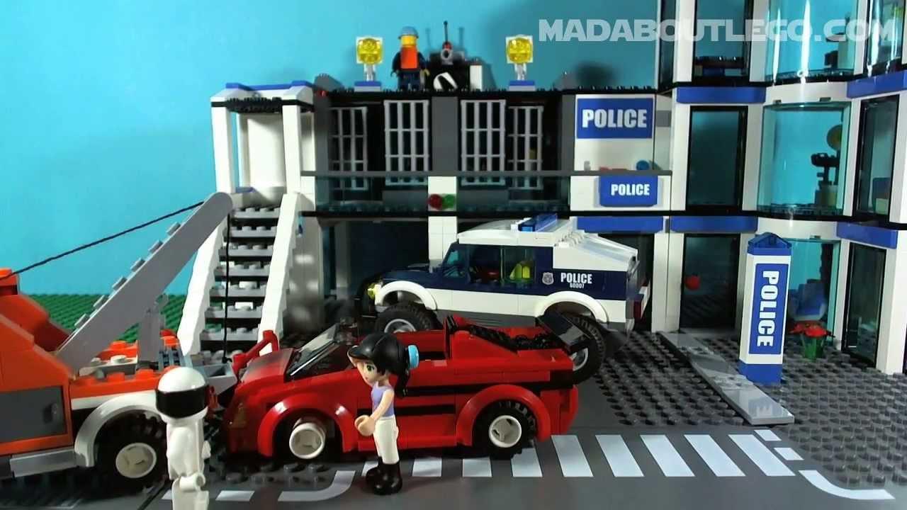 Lego City High Speed Chase 60007 Youtube