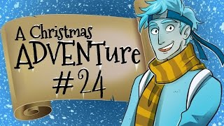 Minecraft Christmas ADVENTure 3 - Stop That Train!! (Day 24)