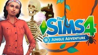 SELVADORADA 🌴✨ Los Sims 4 AVENTURA EN LA SELVA | ANÁLISIS Y REACCIÓN