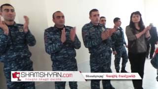 ՈԶ 1033 զորամասի հրամանատարն ու զինվորները հերթական անգամ այցելեցին Գավառի մանկատուն