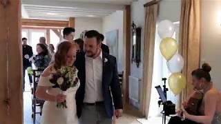 Wedding Ceremony ❤ Jennifer & Stuart