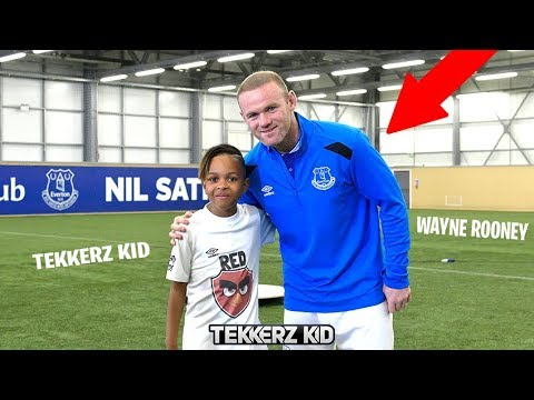 I MISSED SCHOOL & PLAYED FOOTBALL WITH WAYNE ROONEY!