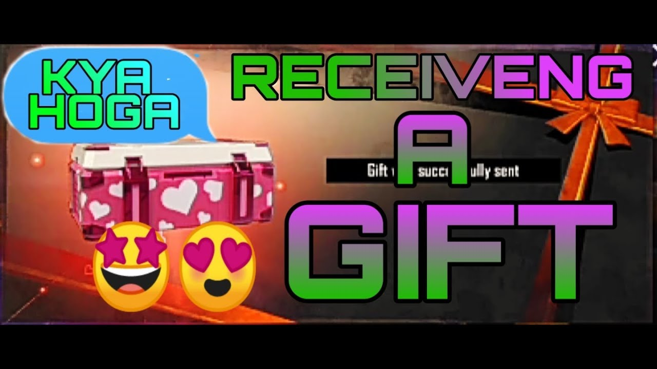 RECEIVING A GIFT BY FRIENDS (EPIC GAMING) 🧐😘🤩 - YouTube